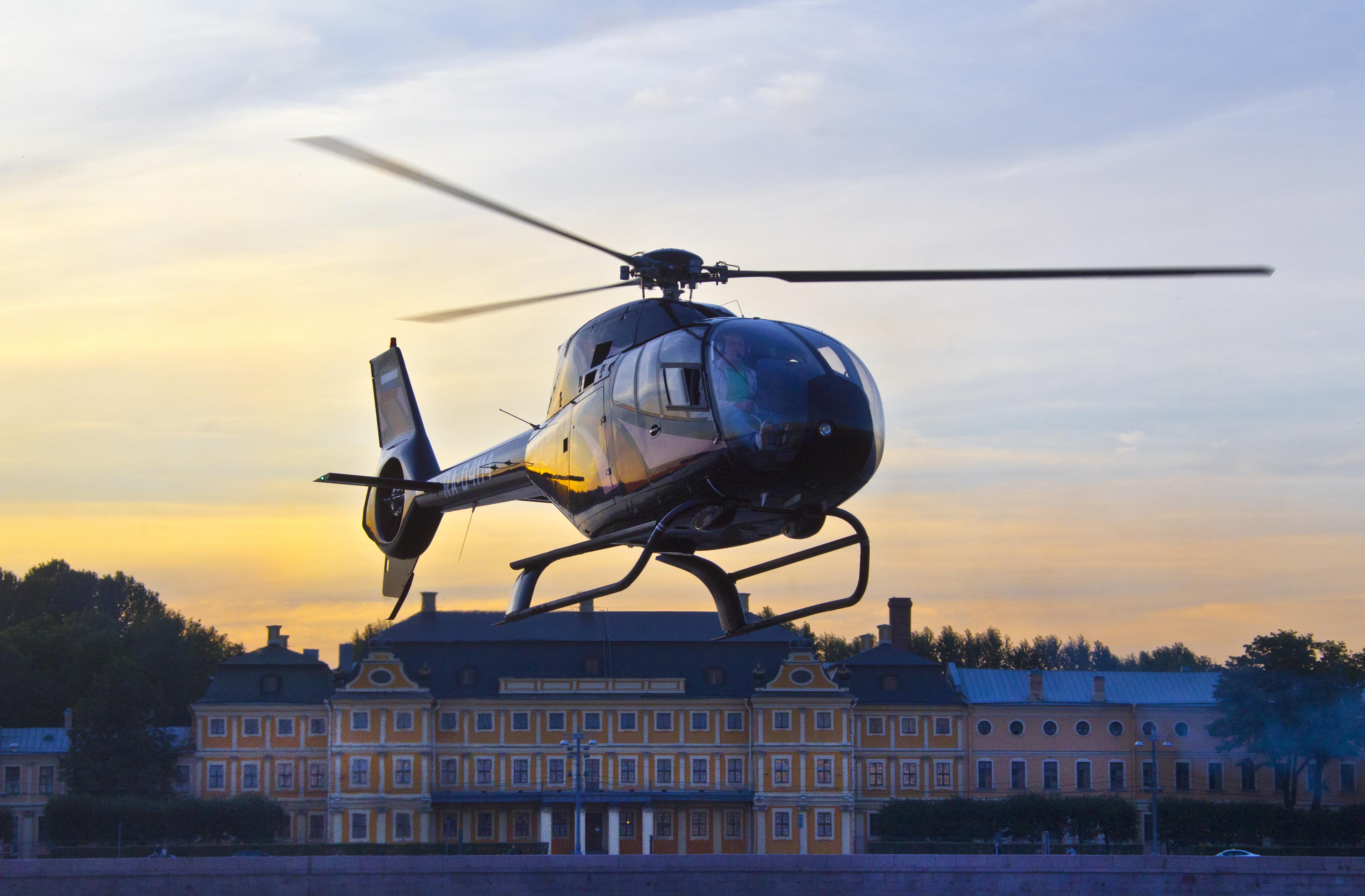 Полет на вертолете в подарок в спб 84